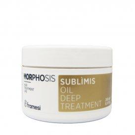 Хидратираща маска с арган Framesi morphosis sublimis oil 200ml