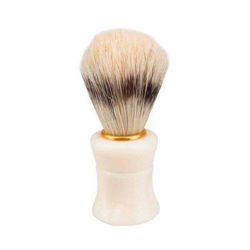 Четка за бръснене с естествен косъм бяла
