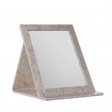 Огледало за грим бежово Easel