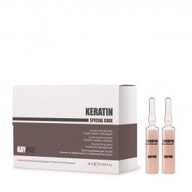 Ампули за увредена коса с кератин  KAYPRO Keratin Lotion 12 x 10ml