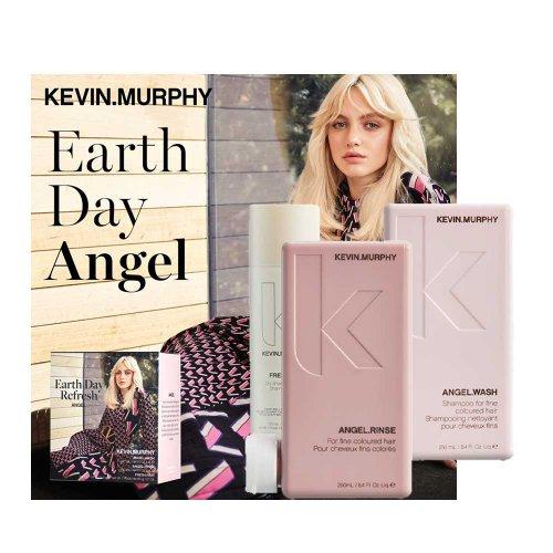 Комплект за обем с ПОДАРЪК Kevin Murphy Earth Day Refresh Angel