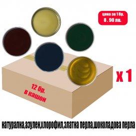 Кашон с кола маска кутии 12 х 800мл. / NATURAL BOX 800
