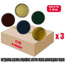 Кашон с кола маска кутии 3 х 800мл. / NATURAL BOX 3x800