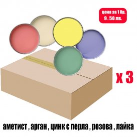 Кашон с кола маска кутии 3 х 800мл. / LUXE BOX 800