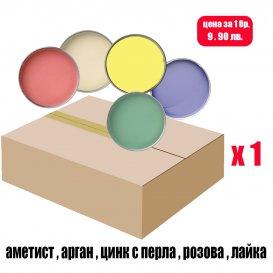 Кашон с кола маска кутии 12 х 800мл. / LUXE BOX 800