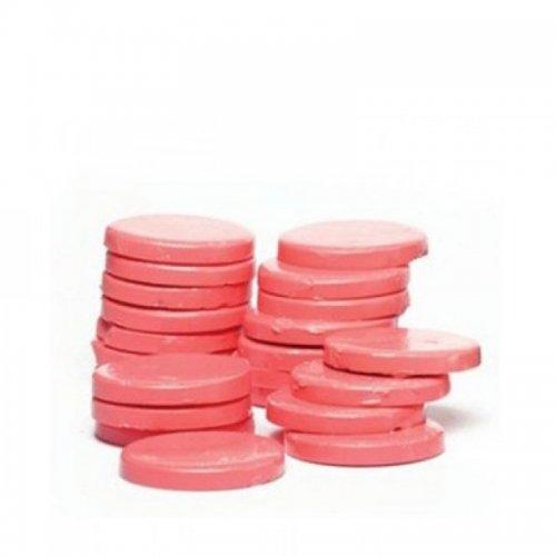 Топла кола маска на дискове розова 1 кг