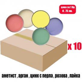 Кашон с кола маска кутии 10 х 800мл. / LUXE BOX 800