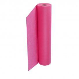 Еднократен чаршаф ТНТ Розов 40гр 58см. x 50м.