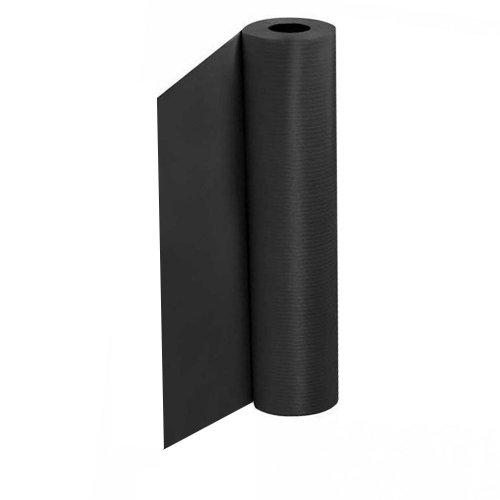 Хартиен чаршаф с найлон Черен 58см X 50м