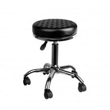 Козметичен стол черен AM-302 Diamond