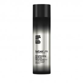 Шампоан за сияйно руса коса Label M Brightening Blonde Shampoo 250 ml