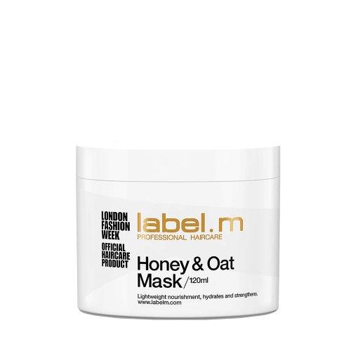 Подхранваща маска с мед и овес Label M Honey & oat mask 120 мл.