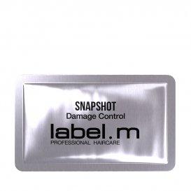 Еднократна доза терапия за възстановяване на косата Label M SnapShot Damage Control 9ml