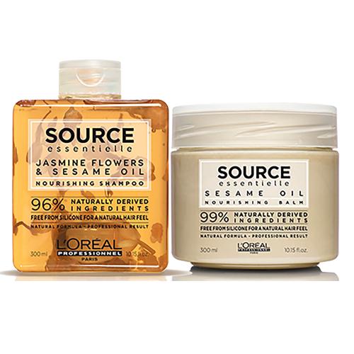 Комплект за всеки тип коса за честа употреба  Loreal Source - Beautymall.bg