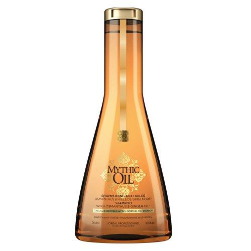 Подхранващ шампоан за нормална и фина коса Loreal Mythic Oil Shampoo 250 мл