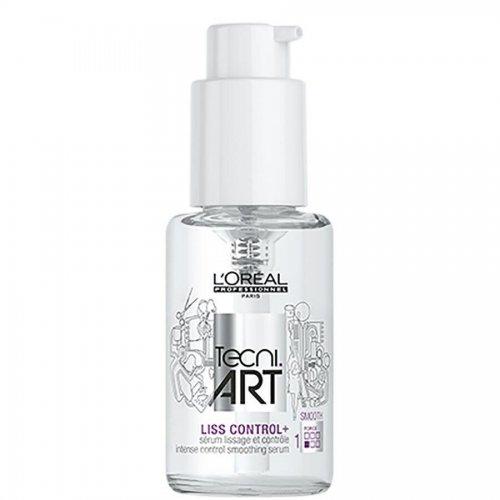 Приглаждащ серум за коса Loreal Tecni Art Liss Control Serum 50ml.