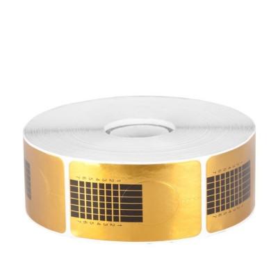 Форми за удължаване на ноктите златни 500бр