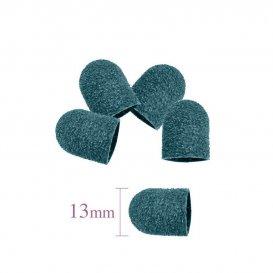 Шлайф шапка за педикюр - гъбка зелена