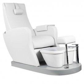 Стол за педикюр Azzurro SPA16 Бял