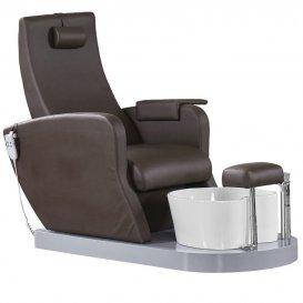 Стол за педикюр Azzurro SPA16 Кафяв