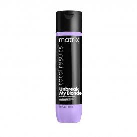 Подсилващ балсам за изсветлявана коса Matrix Unbreak My Blonde Conditioner 300ml