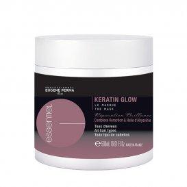 Маска за блясък с кератин Eugene perma Keratin glow mask 500 ml