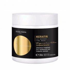 Подхранваща маска с кератин / Eugene perma keratin mask 500 ml