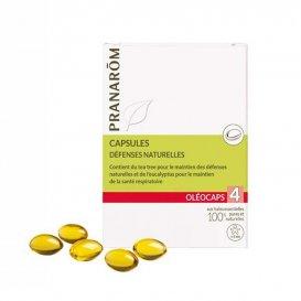 Капсули за стимулиране на имунитета Pranarom Oleocaps 4  30бр