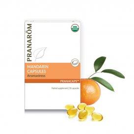 За успокоение и на нервната система с етерично масло Мандарина Pranarom 30бр