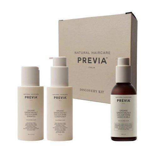 Травъл комплект за запазване на цвета Previa