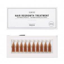 Ампули против косопад Previa Hair Regrowth Treatment 10x5ml