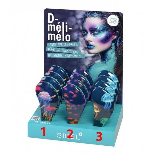 Антистатична четка за коса Sibel D-Meli-Melo