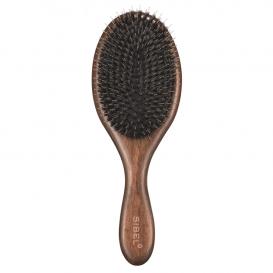 Дървена четка с глигански косъм Sibel Decopad L