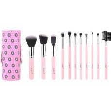Четки за грим Sibel Pink Flamingo 11бр.