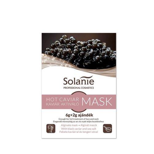 Алгинатна регенерираща маска с хайвер Solanie Hot Caviar Mask 8g