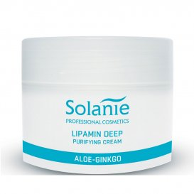 Почистващ и хидратиращ крем Solanie Lipamin deep purifing cream 250ml.