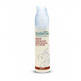Хидратиращ дневен крем с 24-каратово злато Solanie Gold Catalyst Moisturizing Day Cream 50ml