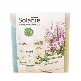 Подаръчен комплект за зряла кожа с грозде и хиалурон Solanie