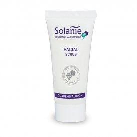 Пилинг с гроздови семена и хиалуронова киселина Solanie Facial Scrub 125ml.