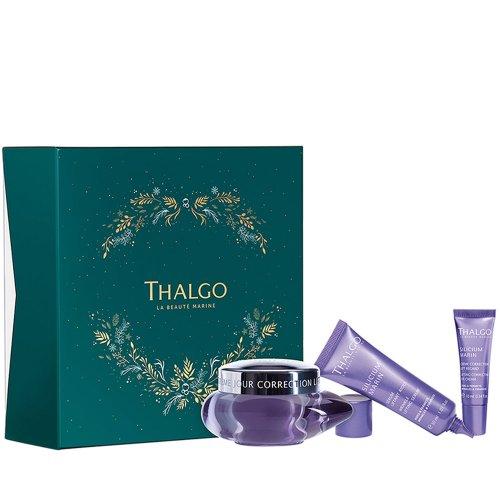 Подаръчен комплект против бръчки Thalgo Cilicium Marine