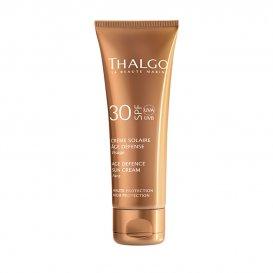 Регенериращ слънцезащитен крем SPF30 Thalgo Crème Solaire Age Defence 50ml