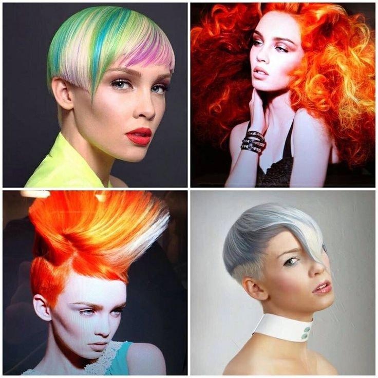 1. Боя за коса – различни цветове.