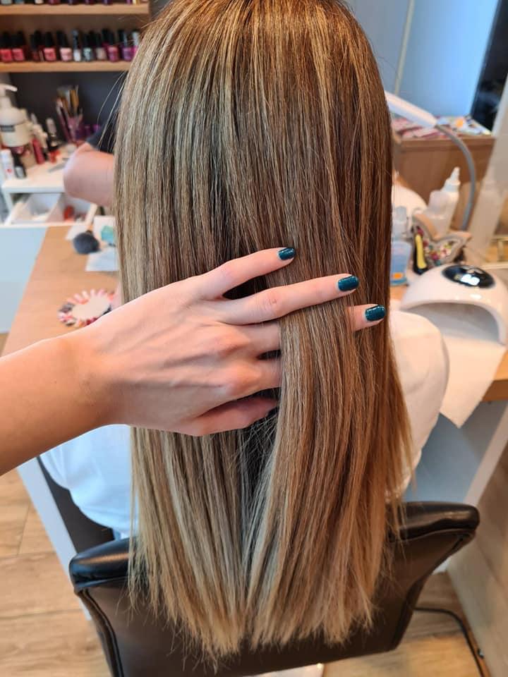 Проверка на коса