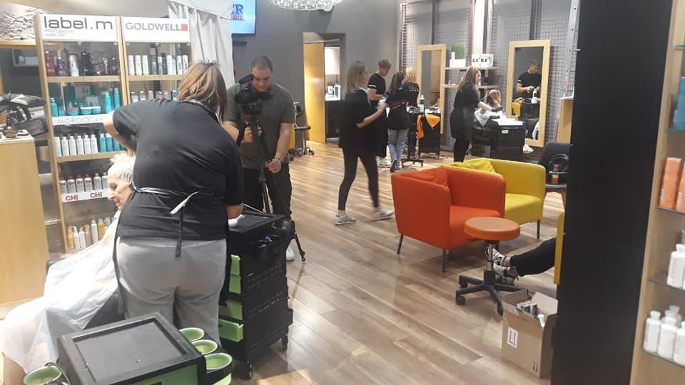 Заснемане на фризьорство